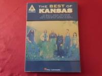 Kansas - The Best of  Songbook Notenbuch Vocal Guitar