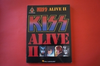 Kiss - Alive II  Songbook Notenbuch Vocal Guitar