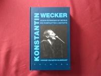 Konstantin Wecker - Schon Schweigen ist Betrug (Hardcover, Erstauflage) Songbook (nur Texte)
