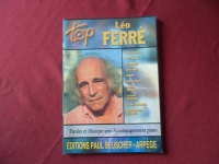 Léo Ferré - Top Ferré  Songbook Notenbuch Piano Vocal Guitar PVG
