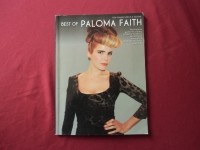 Paloma Faith - Best of  Songbook Notenbuch Piano Vocal Guitar PVG