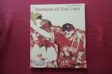 Santana - All that I am Songbook Notenbuch Vocal Guitar