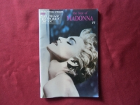 Madonna - The Best of  Songbook Notenbuch Vocal Easy Keyboard