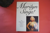 Marilyn Monroe - Marilyn Sings  Songbook Notenbuch Piano Vocal Guitar PVG