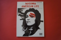 Madonna - American Life  Songbook Notenbuch Piano Vocal Guitar PVG