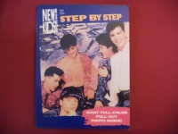 New Kids on the Block - Step by Step (mit Poster)  Songbook Notenbuch Piano Vocal Guitar PVG