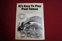 Paul Simon - It´s easy to play  Songbook Notenbuch Piano Vocal Guitar PVG