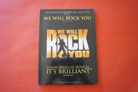 Queen - We will rock you (Queen Musical)  Songbook Notenbuch Piano Vocal Guitar PVG