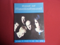 Radiohead - Best of  Songbook Notenbuch Piano Vocal Guitar PVG