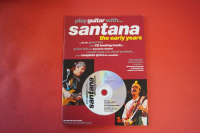 Santana - Play Guitar with (mit CD) Songbook Notenbuch Vocal Guitar