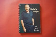 Ralph Siegel - Die grossen Erfolge Songbook Notenbuch Piano Vocal Guitar PVG