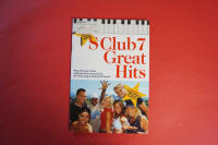 S Club 7 - Great Hits  Songbook Notenbuch Vocal Easy Keyboard