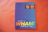 Wham - The Best of  Songbook Notenbuch Piano Vocal Guitar PVG