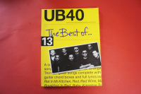 UB40 - The Best of  Songbook Notenbuch Piano Vocal Guitar PVG