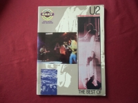 U2 - The Best of  Songbook Notenbuch Vocal Easy Guitar