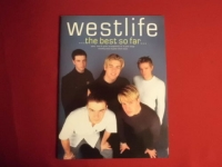 Westlife - The Best so far  Songbook Notenbuch Piano Vocal Guitar PVG