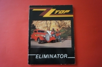 ZZ Top - Eliminator  Songbook Notenbuch Piano Vocal Guitar PVG
