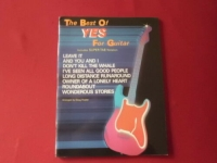Yes - Best of for Guitar  Songbook Notenbuch Vocal Guitar