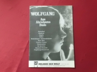 Wolfgang - Aus Abrahams Bude  Songbook Notenbuch Piano Vocal Guitar PVG