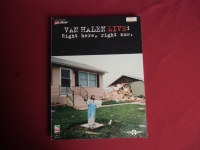 Van Halen - Live Right Here Right Now  Songbook Notenbuch Vocal Guitar