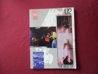 U2 - The Best of  Songbook Notenbuch Vocal Bass